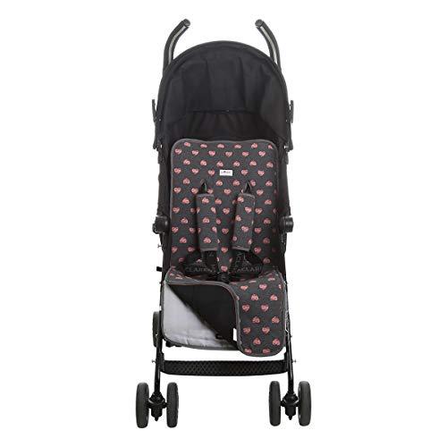 JANABEBE Sitzauflage Universal für Kinderwagen (Fluor Heart)