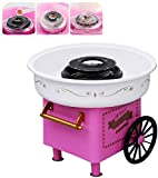 ANCROWN Cotton Candy Machine, Sugar Floss Maker, Portable Mini Electric DIY Sweet Device for Kids in...