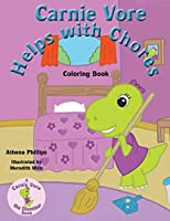 Carnie Vore Helps with Chores Coloring Book