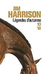Légendes d'automne de Jim HARRISON