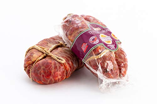 Soppressata di Calabria D.O.P. piccante 350 grammi, Madeo