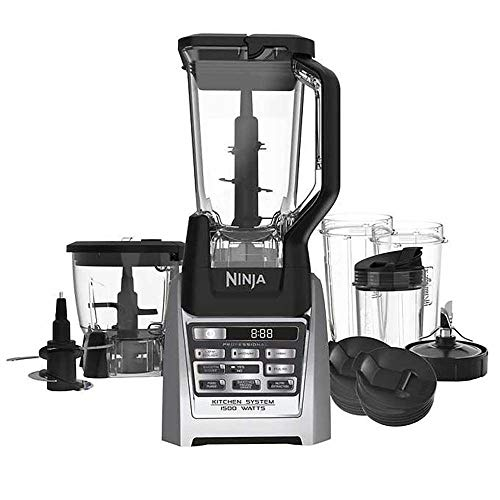 Read About SharkNinja Ninja Auto-iQ Blender, under counter high, stainless