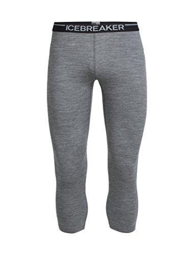 Icebreaker Oasis Legless Pantalon Fonctionnel pour Homme XL Gris