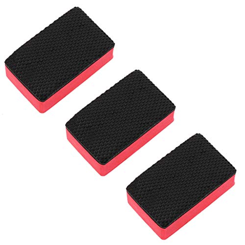 DressLksnf Magic Clay Sponge Bar Car Pad Bloque de Limpieza Borrador Cera Herramienta de Almohadilla de Pulido 3Pc