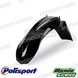 mondocross Guardabarros Delantero Cross Polisport negro color OEM 2010Gas Gas EC 12508–10EC 25008–10EC 30008–10GASGAS EC 12508–10EC 25008–10EC 30008–10