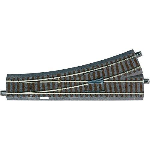 61140 H0 Roco geoLINE (mit Bettung) Weiche, Links 200 mm 22.5 ° 502.7 mm