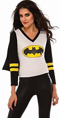 Rubie's Women's Offiically Licensed DC Superheroes Batgirl Sporty Tee in 3 Sizes