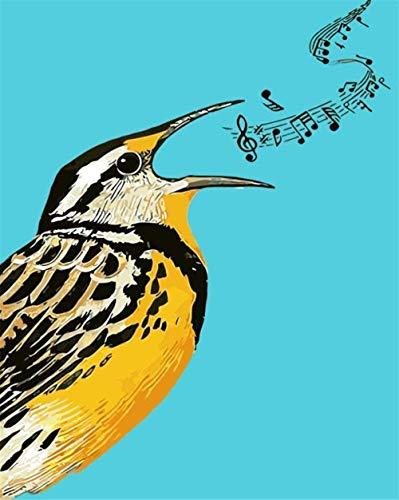 Houten puzzel 1000 stukjes stukjes for Volwassen kinderen educatief Stress Reliever -Leeuwerik vogel-Modern Home Decor Art Uniek Cadeau 50X75CM