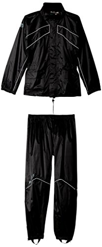 Joe Rocket 1010-1005 RS-2 Men's Motorcycle Rain Suit (Black, X-Large)