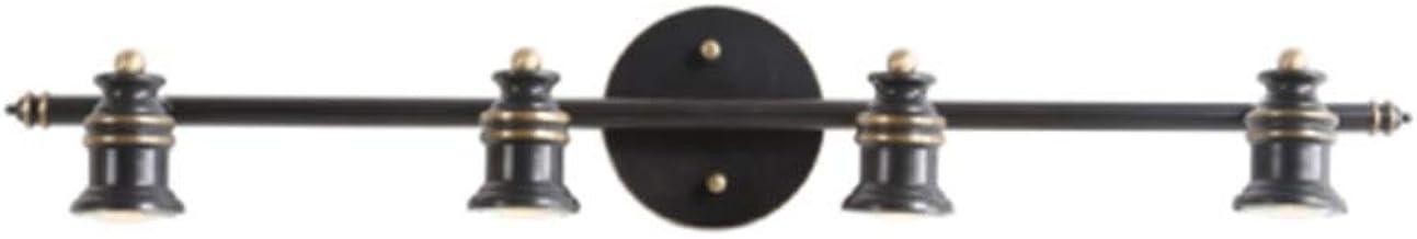 Spiegel lampen, spiegel koplamp LED koper zwart spiegel licht Noords kabinet licht Amerikaanse voormuur schilderij lamp ou...
