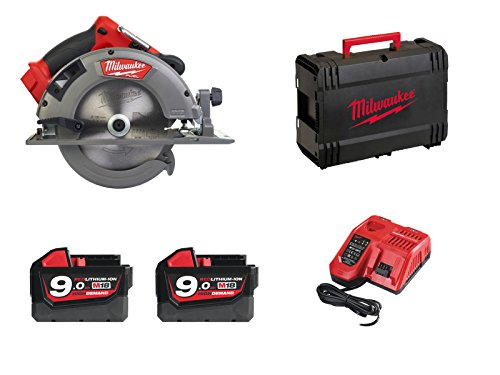 Milwaukee M18 CCS66-902X | FUEL cirkelzaag 66 mm + 2 x 9 Ah batterijen