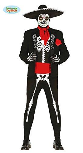 Mexikanischer Skelett Tänzer Gr. M - L , Größe:M
