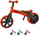 Yvolution Y Velo Junior Toddler Bike | No-Pedal Balance Bike | Ages 18 Months to 4 Years (red New), Small
