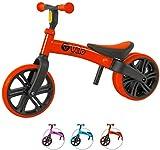 Yvolution Y Velo - Bicicleta de Equilibrio sin Pedales para niños de 18 Meses a 4 años (Rojo Nuevo)