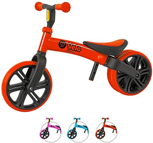 Yvolution Y Velo Junior bike ジュニア幼児用バイク ペダルなし自転車 キックバイク 対象年齢18ヶ月 1歳 2歳 3歳 4歳 レッド red 平衡感覚育成