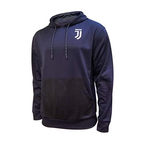 Icon Sports Herren Juventus Erwachsene Pullover Hoodie Juventus Erwachsene Pullover Hoodie Größe L Alternativ
