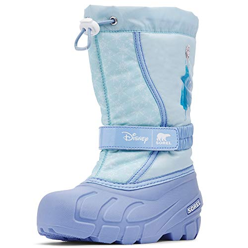 Sorel - Disney Frozen 2 Kids' Flurry Winter Snow Boot, Elsa Edition, Frosted Purple, 13 M US Little Kid