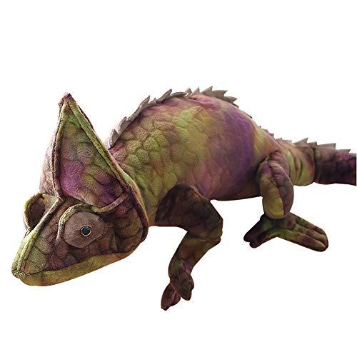 NAttnJf - Muñeca de Peluche con diseño de camaleón (28 Pulgadas)