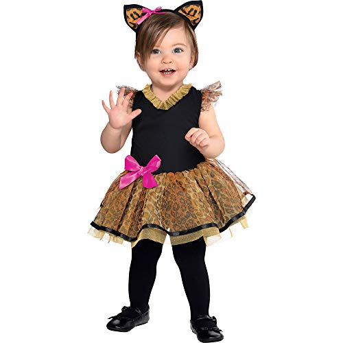 Amscan 846776 Baby Cutie Cat Costume, 12-24 Months Old