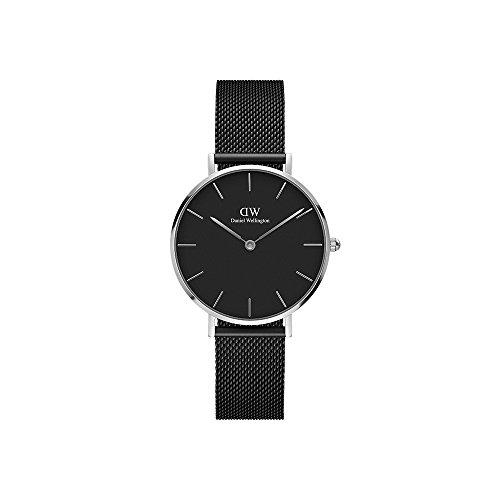 Daniel Wellington Women's Watch Classic Petite Ashfield Black 32mm