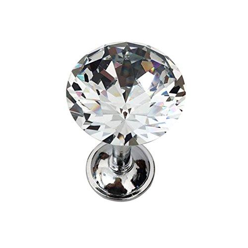 Sharplace Kristall Raffhalter Gardinenhalter Vorhanghalter Gardinenschmuck - Silber