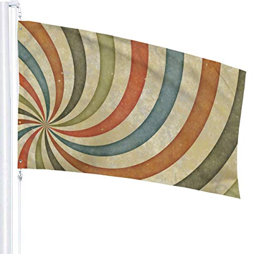N/A Paint Whirlpool-Flagge, Premium-Polyester, Dekoration, 152 x 91 cm