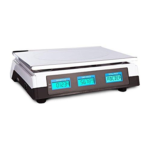 tempo di saldi Bilancia Elettronica Digitale Professionale Min. 5 Gr Max. 40 Kg Divisione 2 Gr-