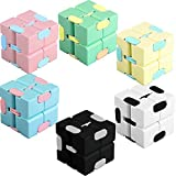 Cotiny 6 Pack Infinity Cube Fidget Toys Infinity Cube Prime for Stress and...