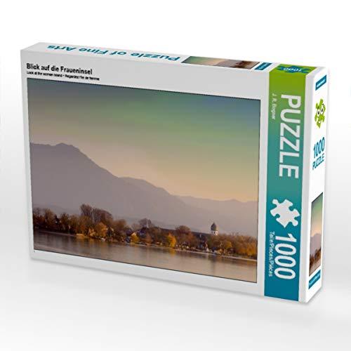 CALVENDO Puzzle Blick auf die Fraueninsel 1000 Teile Lege-Größe 64 x 48 cm Foto-Puzzle Bild von Johann Rudolf Bogner