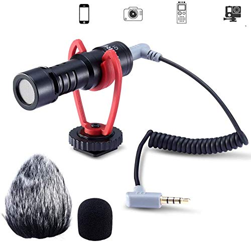 Vivitar DVR 548SHD Camcorder External Microphone Vidpro XM-L Wired Lavalier microphone Transducer type Electret Condenser 20 Audio Cable