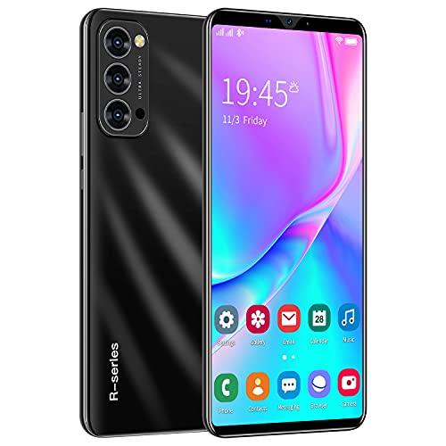 "Teléfono Móvil Libre, ShaQx Rino4Pro Android 3G Smartphone Libre, 4GB ROM (32GB SD) Mobile Phone, 6.1"" IPS Display Movil, 5MP + 2MP Dual Camera, Dual SIM, WiFi,Bluetooth,GPS (Rino4Pro-Negro)"