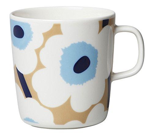 Marimekko - Oiva Unikko - Becher mit Henkel - Henkelbecher - Kaffeebecher - Ø 9,6 cm