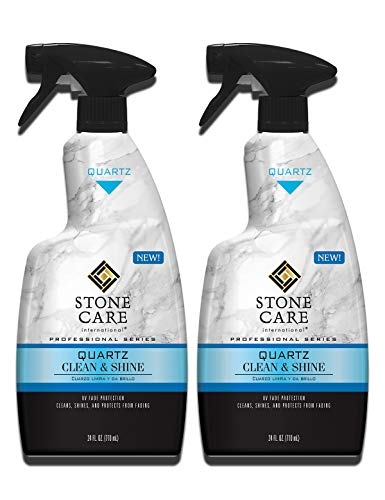 Stone Care International Quartz Cleaner and Polish - 24 Ounce(2...