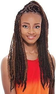 Synthetic Hair Braids Janet Collection Noir Afro Marley Braid (Twist Braid) (M1B/30)