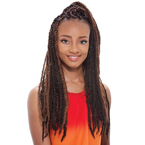 Synthetic Hair Braids Janet Collection Noir Afro Marley Braid (M4/27)