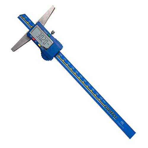 MASO - Medidor digital de profundidad 200 mm / 8 pulgadas digital profesional de...
