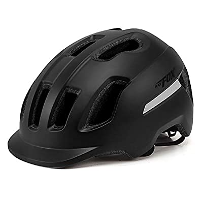 Mountain Bike Helmet for Adult Men and Women Ultralight Adjustable Cycling Riding Helmet with Sun Visor Breathable 12 Vents Bicycle Helmets