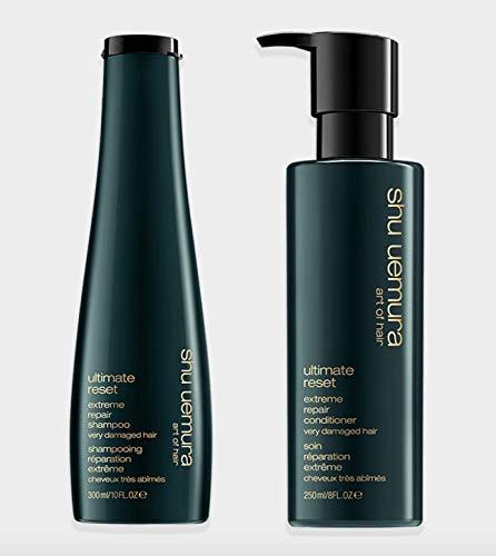 Shu Uemura Ultimate Reset Shampoo 10 Ounce and Conditioner 8 Ounce Set