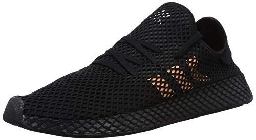 adidas Herren Deerupt Runner Gymnastikschuhe, Schwarz (Core Black/Easy Orange/FTWR White Core Black/Easy Orange/FTWR White), 44 EU