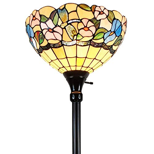 Amora Lighting Tiffany Style Floor Lamp 70