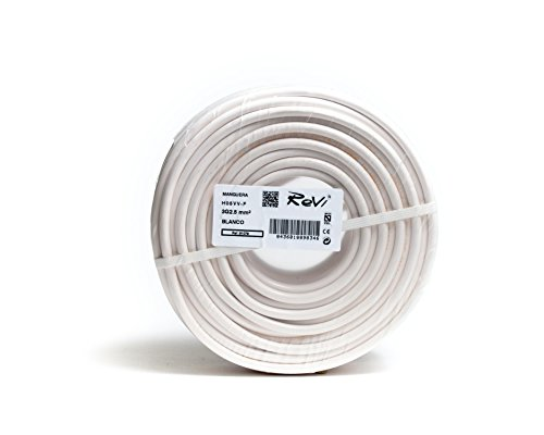 Cable H05VV-F Manguera 3x2,5mm 50m (Blanco)