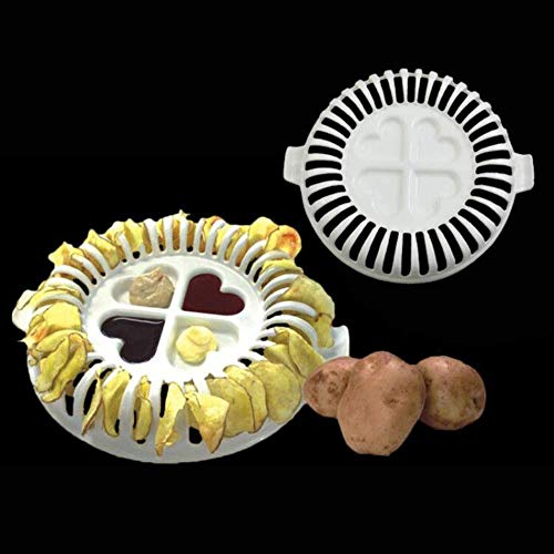 Motivbackformen Backformsets Kuchenringe Home Backwerkzeug Küche Backeinsätze Zubehör Werkzeuge Kartoffelchips Backblech Mikrowelle Backofen Fat Potato Chips Maker