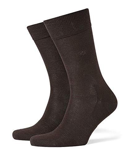 Burlington Dublin Herren Socken dark brown (5233) 40-46 One size fits all (Gr. 40-46)