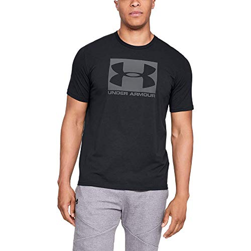 Camiseta/UNDER ARMOUR:Boxed Sportstyle M Negro