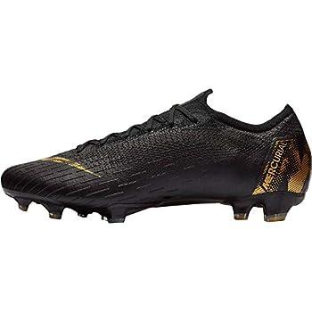 Nike Vapor 12 Elite FG Mens Football Boots AH7380 Soccer Cleats  UK 7 US 8 EU 41 Black Vivid Gold 077