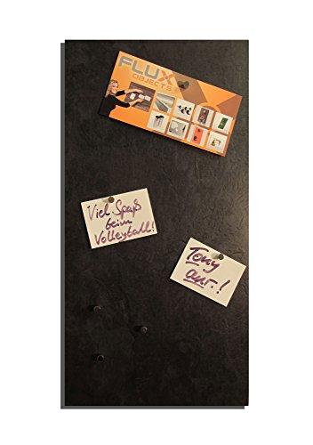 Magnetische Vinyl-Pinnwand/Magnettafel/Memoboard in Schiefer-Optik und einer Größe von 61cm x 30,5cm inkl. 10 Neodym-Haltemagnete