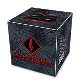 COCOSOUL Carbon para CACHIMBAS Shisha Hookah Carbon Premium DE Coco. 26X26mm
