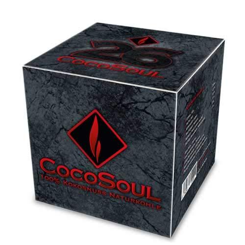 CocoSoul® 1kg 100% Kokosnuss Naturkohle für SHISHA & GRILLKOHLE