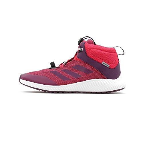 adidas adidas Jungen Unisex Kinder Fortatrail Mid K Fitnessschuhe, Mehrfarbig (Rubmis Rojnoc Rosene), 33 EU
