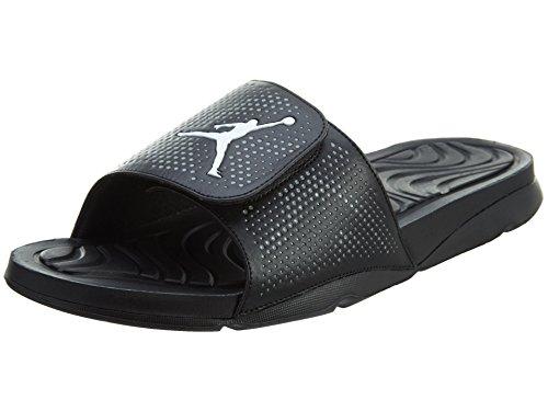 Nike Nike Herren Jordan Hydro 5 Basketballschuhe, Schwarz/Weiß/Grau (Schwarz/Weiß-Cool Grey), EU 40